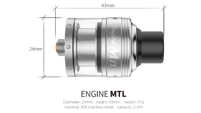 engine mtl rta specs