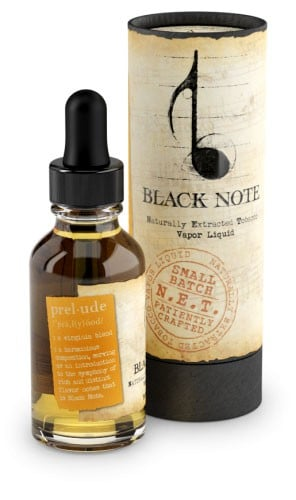 Best Virginia tobacco e-liquid - black note prelude