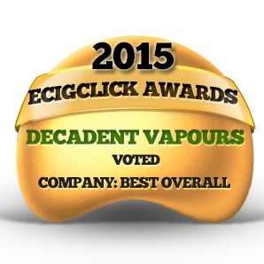 Decadent Vapours - Best overall