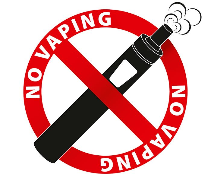 no vaping allowed