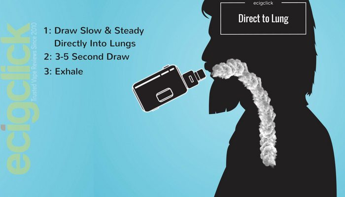 How To Vape Direct To Lung
