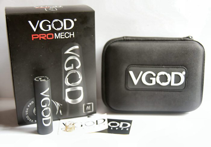 Vgod Pro Mech packaging