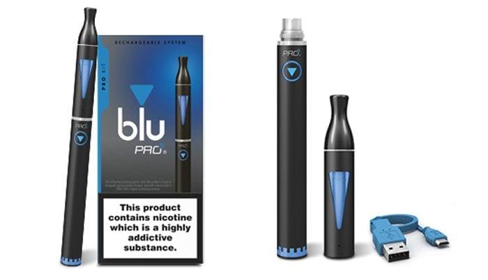 blu PRO vape pen kit