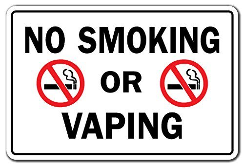 no vaping no smoking