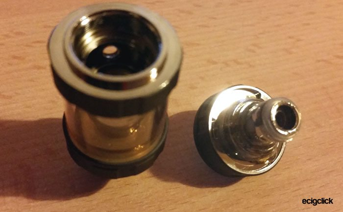 Vaptio CII coil installed