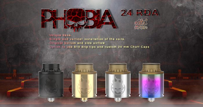 Vandy Vape Phobia 24 marketing banner