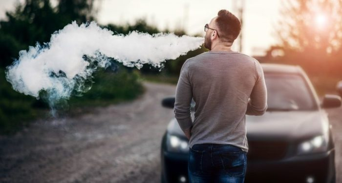 vaping and driving