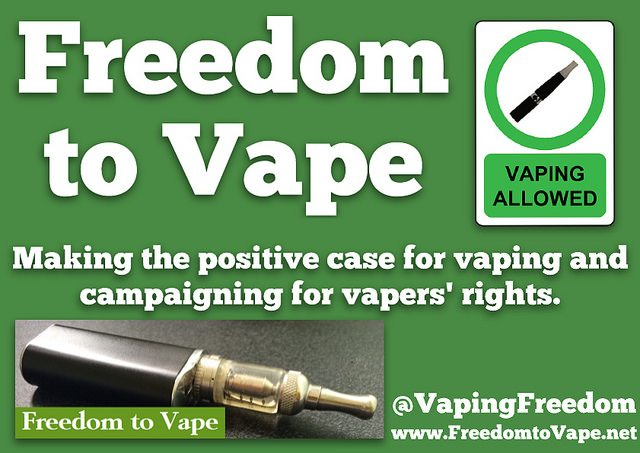 freedom to vape campaign
