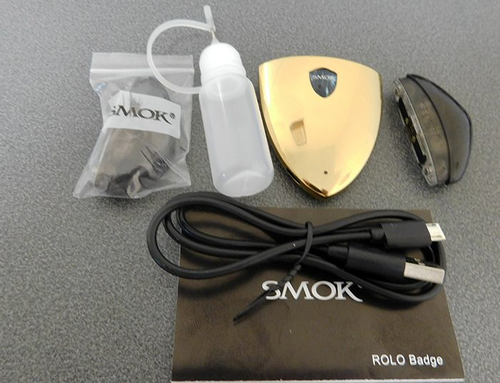 smok rolo badge kit contents