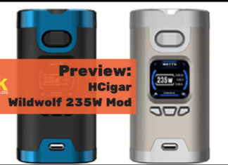 hcigar wildwolf 235w mod preview