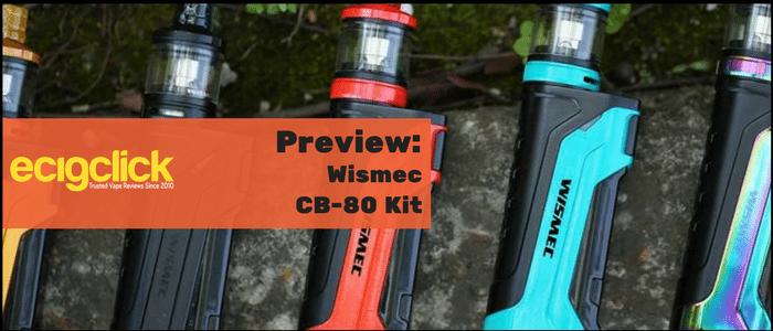 wismec cb-80 kit preview