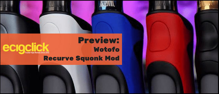 wotofo recurve squonk mod preview