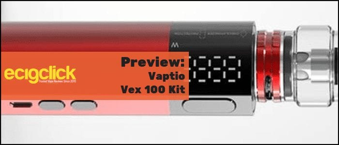 vaptio vex 100 kit preview