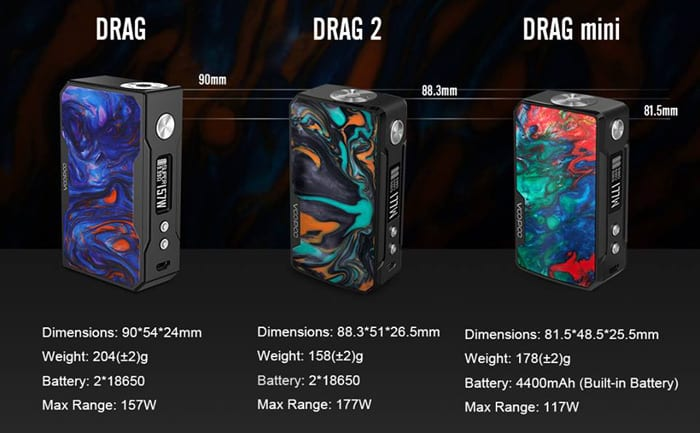 voopoo drag family