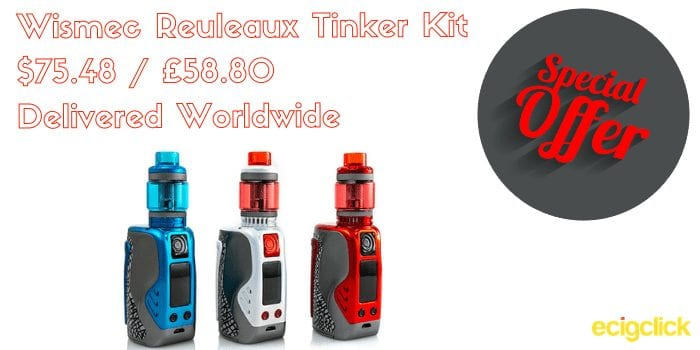 Wismec Reuleaux Tinker Kit cheap
