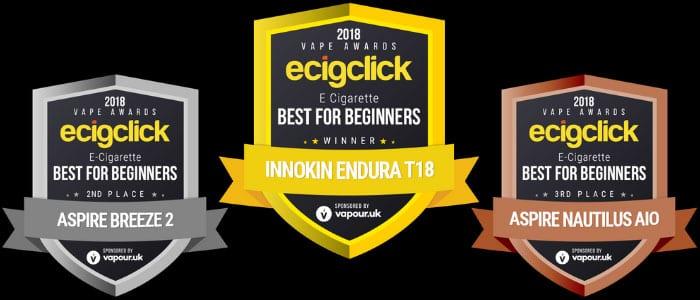 best e cig beginners Ecigclick Awards 2018