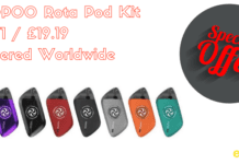voopoo rota pod kit cheap