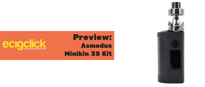 asmodus minikin 3s kit preview