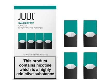 juul pods glacier mint review