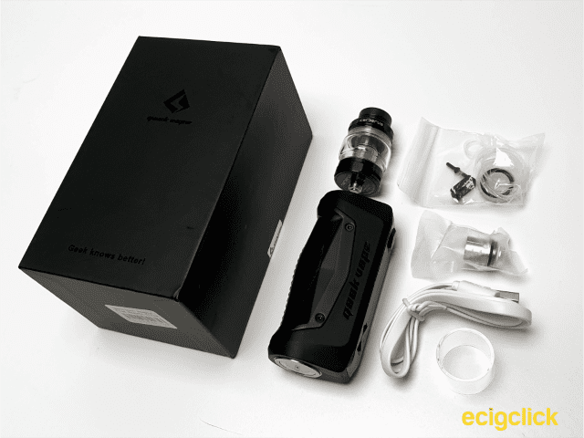 what's in the box aegis solo kit