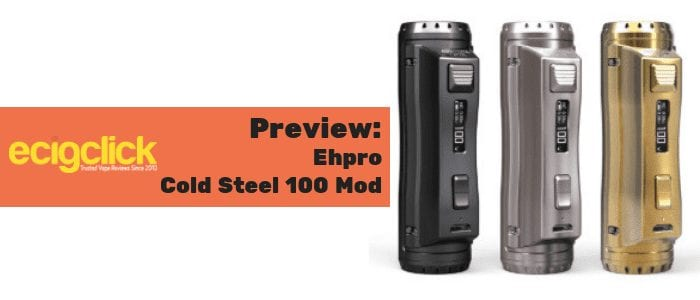 ehpro cold steel 100 mod preview
