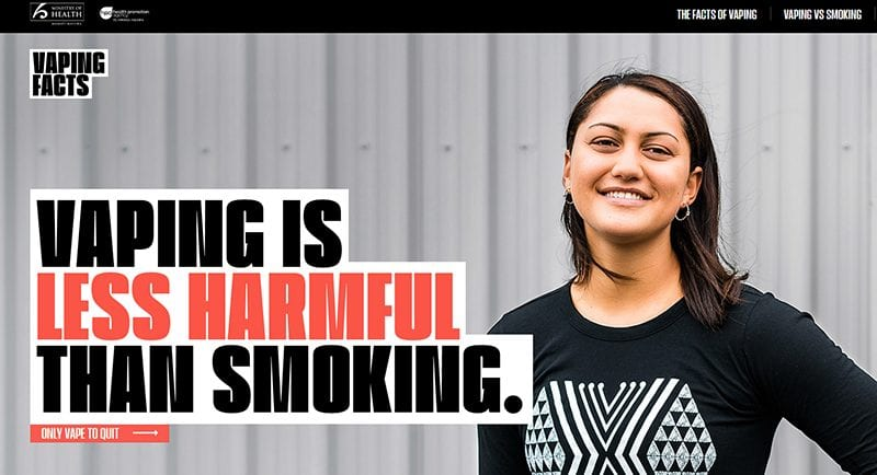 vaping facts nz