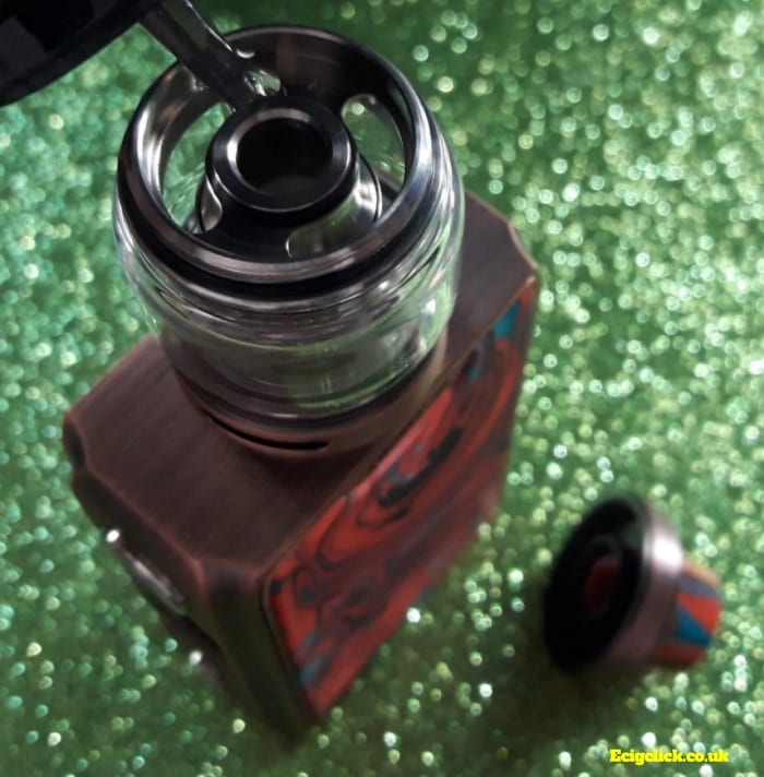 How to fill the iJoy Shogun tank
