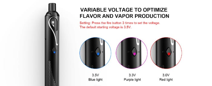 pal stick variable voltage
