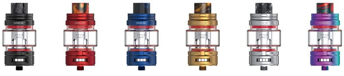 smok tfv16 sub tank colours