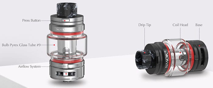 tfv16 by smoktech specs