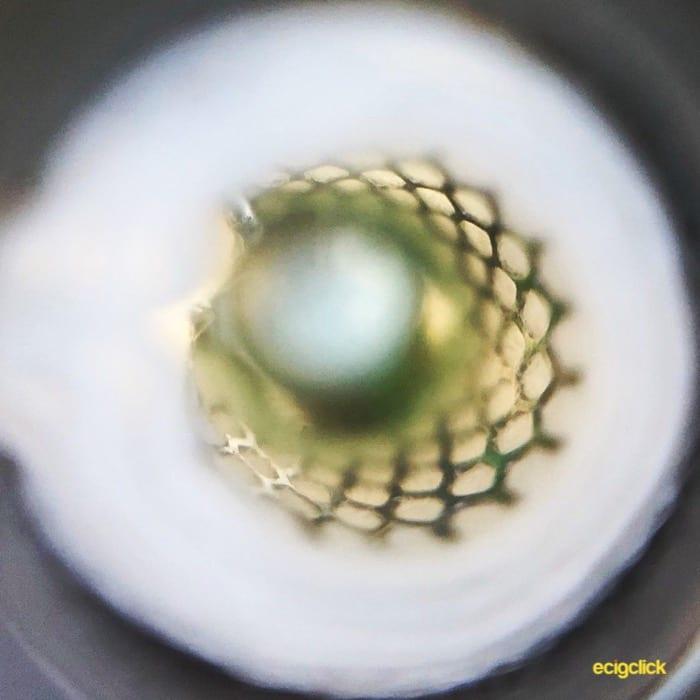 Cleito Shot Mesh Coil close up