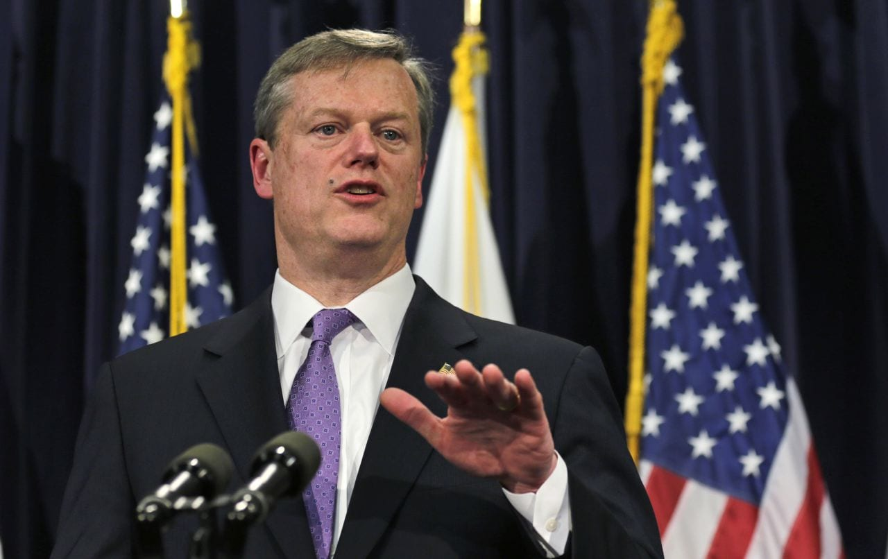 Massachusetts Vape Legislation Governor Charlie Baker