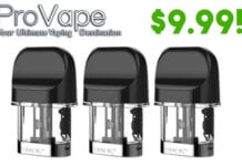 vape deal smok novo 2 replacement pods