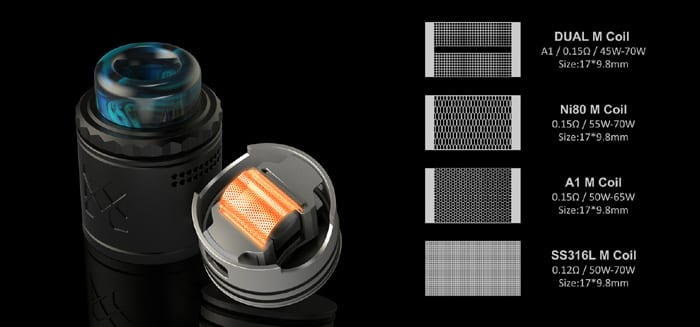 mesh v2 rda mesh options