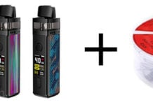 VOOPOO VINCI Pod Mod Plus Demon Killer Ni80 Coils vape deal
