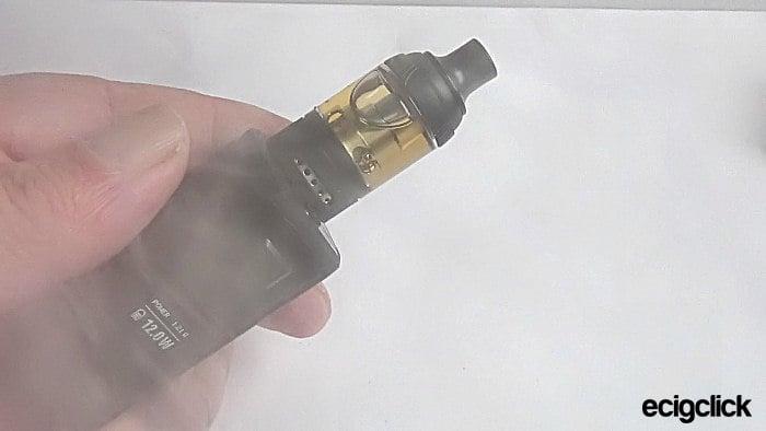 vapefly gungnir kit toot test