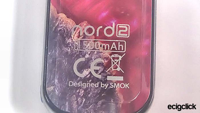 Smok Nord 2 kit design txt