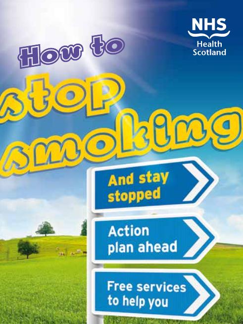 how to stop smoking nhs scotland
