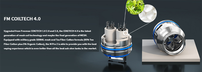 Freemax M Pro 2 Sub Ohm Tank Preview coil material