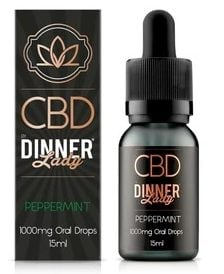 dinner lady cbd oral drops review peppermint 1000mg