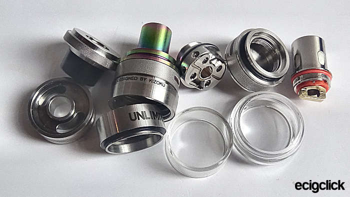 Kizoku Unlimit RTA parts