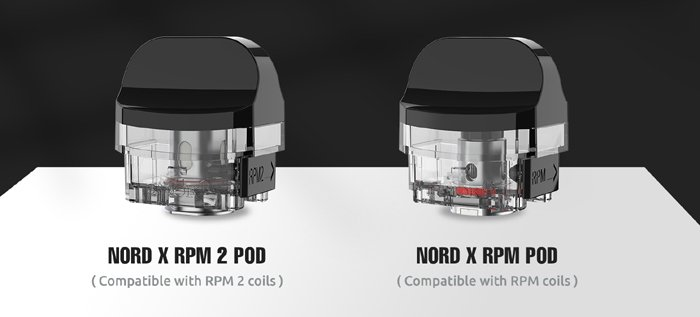 nord x pods