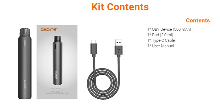 oby kit contents