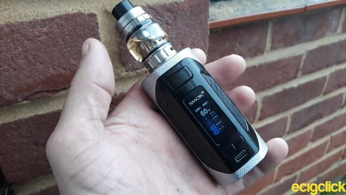 Smok Rigel Kit hand check