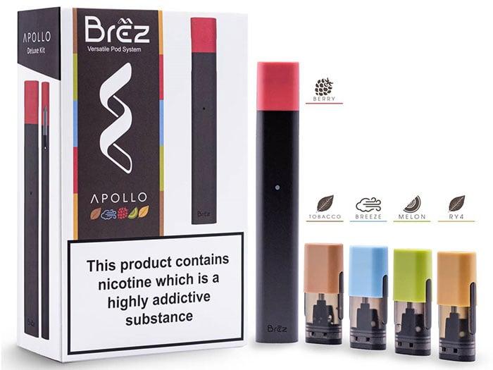 Best pod system - Apollo Brez