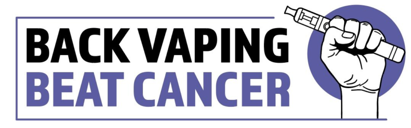 back vaping beat cancer