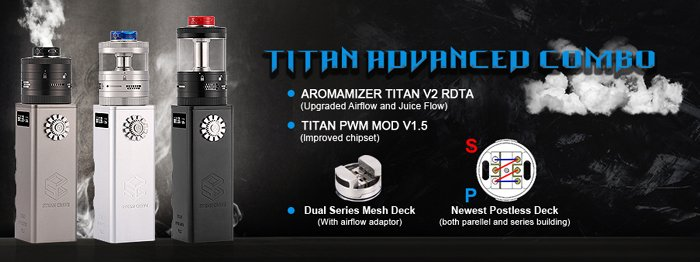 titan v2 rdta advanced comb - Steam Crave Aromamizer Titan V2 RDTA Preview – Oh Yes – It's Even Bigger…