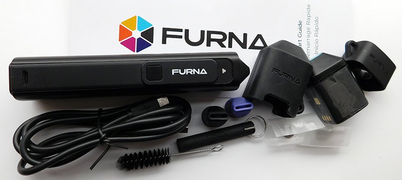 furna vaporizer review contents