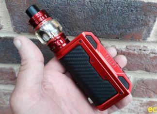 Lost Vape Thelema Quest 200W mod hand check pic