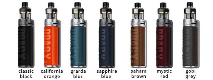 Voopoo Drag X/S Pro colours